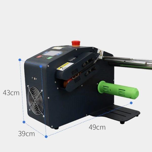 緩衝氣墊機小巧不占空間,主要核心是以工業級性能,在市面上大家都會稱作為氣泡布製造機或氣泡袋充氣機,可供應快速穩定的現場充氣氣墊。